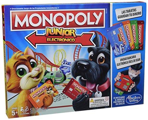 Monopoly- Junior Electronico Hasbro E1842105