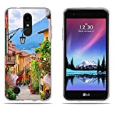 DIKAS LG K4 2017 M160 /Phoenix 3 /Fortune Hülle, Slim Fit Shockproof Flexible 3D Contemporary Chic Design Ultra Thin Grip Durable Flex für LG K4 2017 M160 /Phoenix 3 /Fortune (5.0