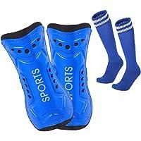 Lifreer Football Shin Pads, 3 Sizes Soccer Shin Guards Socks, Shin Pads Boys, Kids Football Socks for Boys And Girls…