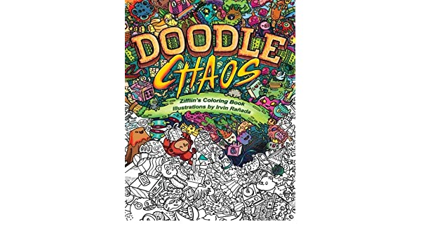 Buy Doodle Chaos Volume 3 Zifflins Coloring Book Online At Low Prices In India