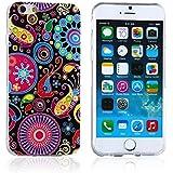 tinxi® Silikon Schutzhülle für Apple iPhone 6 Plus/6s plus 5.5 zoll Hülle Silicon Rückschale Cover Case Etui Schutz Qualle
