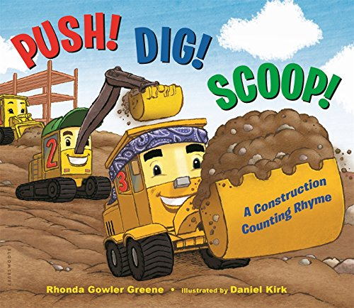 Push! Dig! Scoop!: A Construction Counting Rhyme - Scoop-board