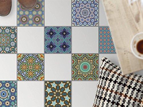 Piastrelle per decorare pavimento a mano | Adesivi per piastrelle