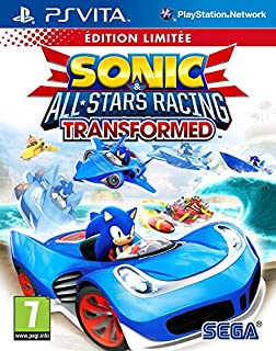 Sonic & All-Stars Racing : Transformed - édition limitée (B0096PU9UQ) | Amazon price tracker / tracking, Amazon price history charts, Amazon price watches, Amazon price drop alerts