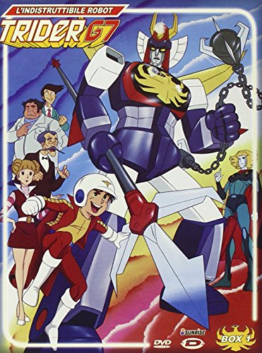 L' Indistruttibile Robot Trider G7 - The Complete Series (10 Dvd)
