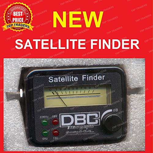 DBC Satellite Signal Finder Meter for Any Sat Dish LNB DIREC TV Dish  Network, SF-9506, SF-95, SF-4A (BY TRP TRADERS) Buy DBC Satellite Signal  Finder