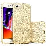 ESR iPhone 8 Hülle, iPhone 7 Hülle, Luxus Glitzer Bling [Glänzende Mode][Ultra Dünn] Designer Schutzhülle für Apple iPhone 8/7 4.7 Zoll 2017 Freigegeben. (Gold)