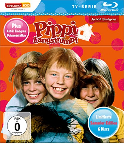 Pippi Langstrumpf TV-Serie Blu-ray Box - Sammler-Edition [Limited Edition]