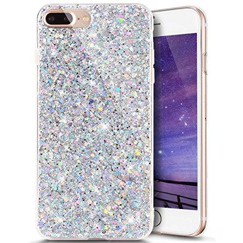 coque glitter iphone 8