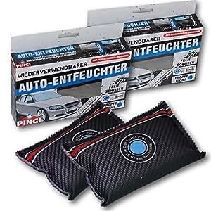 x 2 d shumidificateur de voiture rechargeable avec indicateur d 39 humidit auto et moto. Black Bedroom Furniture Sets. Home Design Ideas