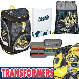 scooli tfuv7551Mochila Escolar twixter Up Transformers, modelo 2017