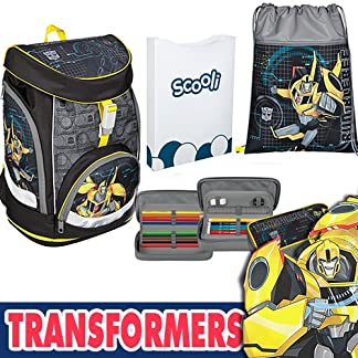 scooli tfuv7551 Mochila Escolar twixter Up Transformers, modelo 2017