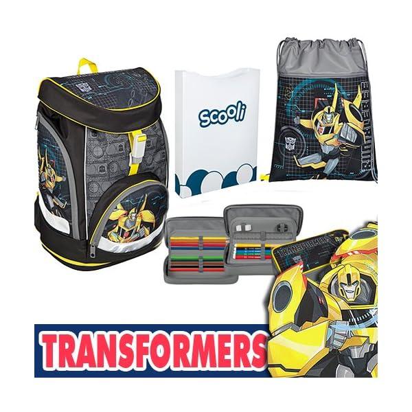 61dWqinb2KL. SS600  - Scooli TFUV7551 Twixter Up Mochila Escolar, Transformers Tfuv