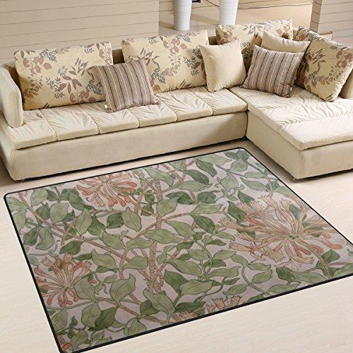 ingbags Super Weich Moderner William Morris Prints, ein Wohnzimmer Teppiche Teppich Schlafzimmer Teppich für Kinder Play massiv Home Decorator Boden Teppich und Teppiche 160x 121,9cm, multi, 63 x 48 Inch