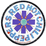 Red Hot Chili Peppers Sperm Patch Mehrfarbig