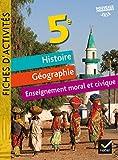 Fiches d'activités - Histoire-Géographie-EMC 5e Éd. 2017...