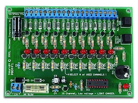 Kit générateur d'effets de lumière 10 canaux Velleman K8044