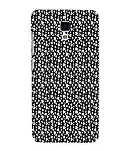 EPICCASE raining hearts Mobile Back Case Cover For Xiaomi Mi4 (Designer Case)