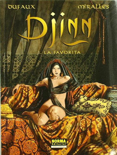 Djinn, La favorita 1 por Jean Dufaux