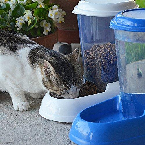Ferplast 71970099W1 Futterspender ZENITH, für Katzen und Hunde, Maße: 29,2 x 20,2 x 28,8 cm, 3 Liter, weiss - 7