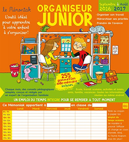 Organiseur Junior Mémoniak 2016-2017
