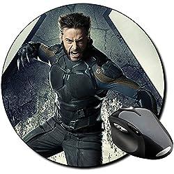 X Men Days Of Future Past Lobezno Wolverine A Alfombrilla Redonda Round Mousepad PC