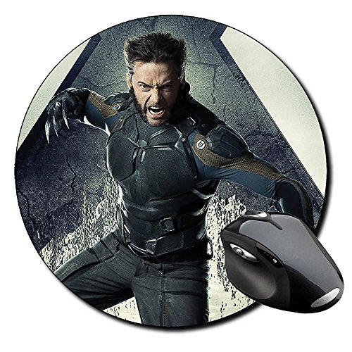 X Men Days Of Future Past Lobezno Wolverine A Alfombrilla Redonda Round Mousepad PC