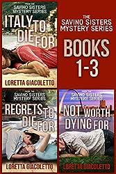 The Savino Sisters Mystery Series: Books 1 - 3