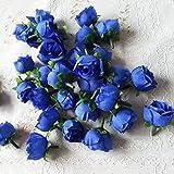 ricisung ca. 50Künstliche Rosen Köpfe 3cm Hochzeit Dekoration