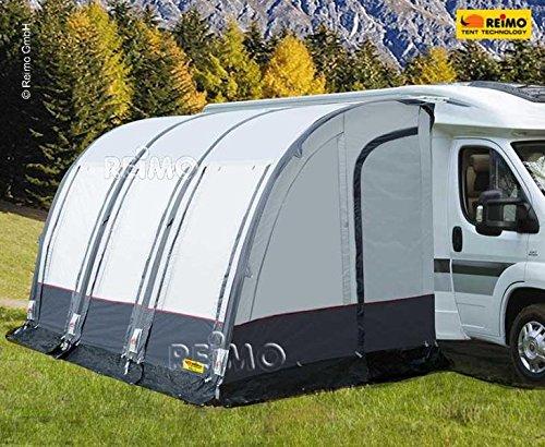 Luftzelt für Wohnmobile CASA AIR, hellgrau/dunkelgrau, inkl.Luftpumpe B390xT250xH260-280cm