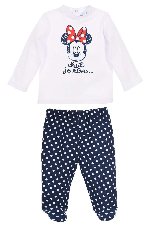 Minnie Mouse bebé-niñas Camiseta + Pantalones 1
