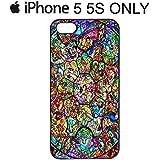 Carcasa para iPhone 4/4S/5/5S/5C Disney, negro, iPhone 5&5s