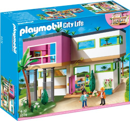 Preisvergleich Produktbild PLAYMOBIL 5574 - Luxusvilla City Life