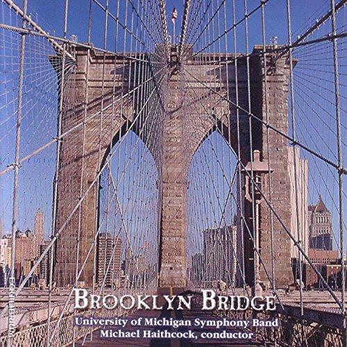 Lower Manhattan Skyline (Brooklyn Bridge: West Wall St. and Lower Manhattan Skyline once dominated by the World Trade Towers)