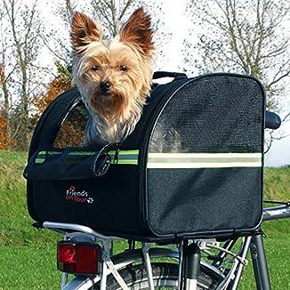 Trixie-Transportin de perro para-bicicleta