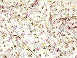 Ballerina-Print Baumwolle Popeline Stoff Meterware,