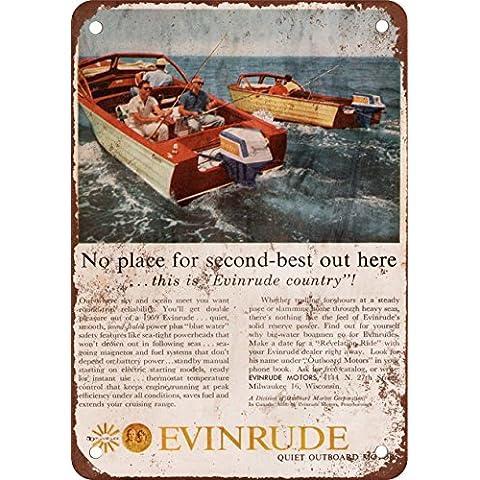 1959 motori fuoribordo Evinrude look vintage Alternatore