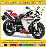 Stickers YAMAHA YZF-R1R1(2009) Kit complet Carénage d'occasion  Livré partout en Belgique