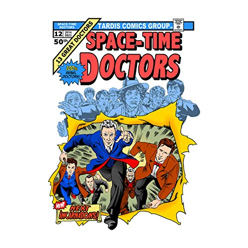 Doctor Who X Men Giant Size Doctors Women's Vest white