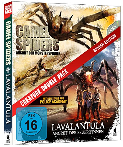 Creature Double Pack - SPIDER Edition: Camel Spiders & Lavalantula [Blu-ray] (2-Disc Set)