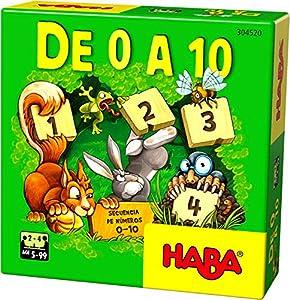 HABA- Juego de Mesa, De 0 a 10, Multicolor (Habermass H304520)