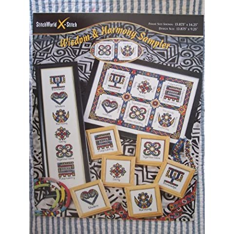 Wisdom & Harmony Sampler Counted Cross Stitch Chart by Stitchworld X-Stitch