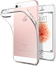Spigen 041CS20247 Apple iPhone SE/5S/5 Schutzhülle Liquid Armor Crystal Clear