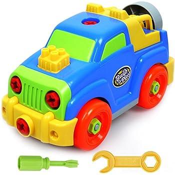 Vehicule Enfant Jeu Assemblage Fajiabao Jouet Construction Bien cJlF1K