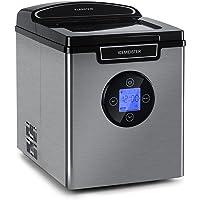 KLARSTEIN Icemeister 2G - Machine à glaçons, 12 kg/24 h, production en 6-10 minutes, 3 tailles de glaçons, réservoir d…
