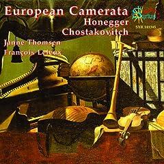Honegger, Shostakovitch: Œuvres de musique de chambre