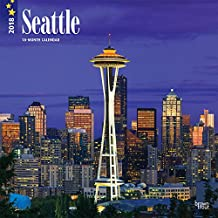 Seattle 2018 - 18-Monatskalender mit freier TravelDays-App: Original BrownTrout-Kalender [Mehrsprachig] [Kalender] (Wall-Kalender)