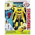 Transformers Robots in Disguise Power Surge Bumblebee and Buzz Strike Toy