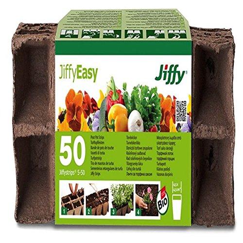 50 Bandes Garda Jiffy Lot de casseroles – 4,5 x 4,5 cm