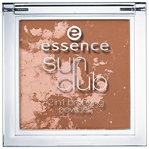 Essence Sun Club 2in1 bronzing powder Nr. 10 sunshine Inhalt: 10g Bronzing Puder und Highlighter...